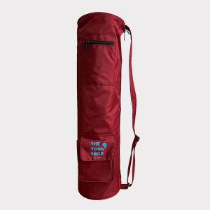 COLOR YOGA MAT BAG – RED WINE
