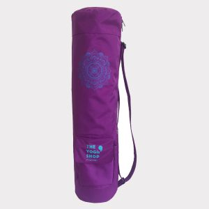 MANDALA YOGA MAT BAG – PURPLE