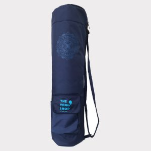 MANDALA YOGA MAT BAG – BLUE
