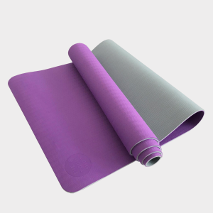 TPE PITTA YOGA MAT –  2 LAYER 6MM – PURPLE