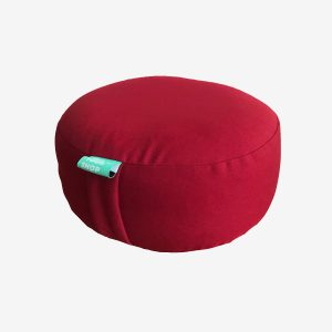 ROUND MEDITATION CUSHION – RED