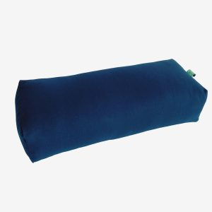 BOLSTER RECTANGULAR MEDITATION PILLOW – BLUE