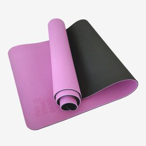 TPE PITTA YOGA MAT –  2 LAYER 8MM – PURPLE (WITH CARRYING BAG 120,000VNĐ)
