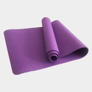 TPE PITTA YOGA MAT –  1 LAYER 6MM – PURPLE