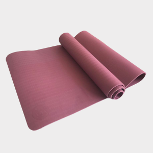 TPE PITTA YOGA MAT –  1 LAYER 8MM – PURPLE