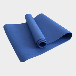 TPE PITTA YOGA MAT –  1 LAYER 8MM – BLUE