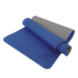 TPE PITTA YOGA MAT –  2 LAYER 8MM – BLUE (WITH CARRYING BAG 120,000VNĐ)