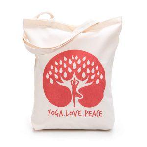TÚI CANVAS – YOGA.LOVE.PEACE