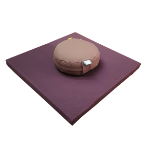 MEDITATION CUSHION SET – BROWN