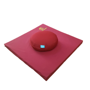 MEDITATION CUSHION SET – RED
